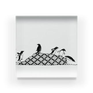 ペンギンズ Acrylic Block