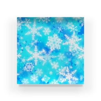 雪 Acrylic Block