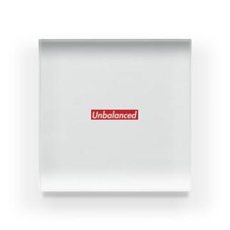 会計士KO@プログラミング×会計士の【会計監査】Unbalanced(貸借不一致)グッズ Acrylic Block