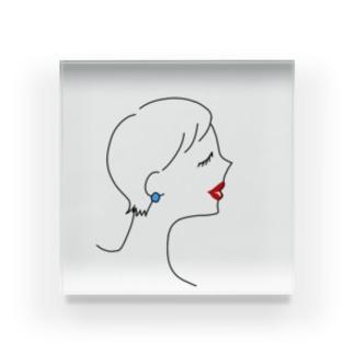 ステキな女性💄 Acrylic Block