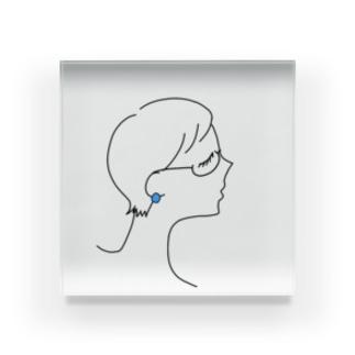 ステキ女性👓 Acrylic Block