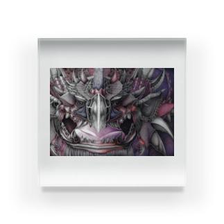 threat Acrylic Block