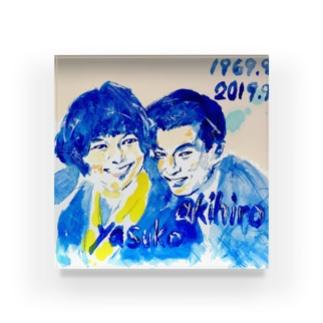 akihiro.yasuko Acrylic Block