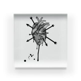 ハートブレーク Acrylic Block