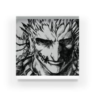 本気の目 Acrylic Block