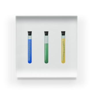 試験管 Acrylic Block
