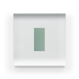 一色アクリルブロック Acrylic Block