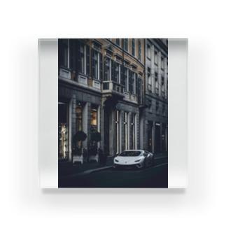 super car Acrylic Block