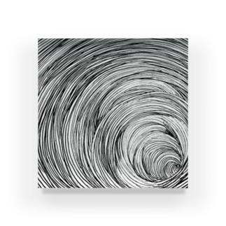 87のグルグル Acrylic Block