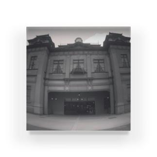 門司港駅舎正面写真 Acrylic Block
