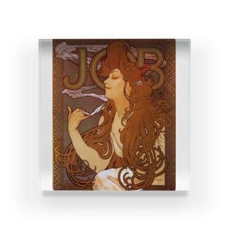 JOB (ジョブ) アルフォンス ミュシャ Acrylic Block