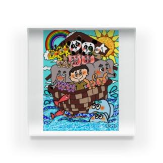 ノアの方舟 Acrylic Block