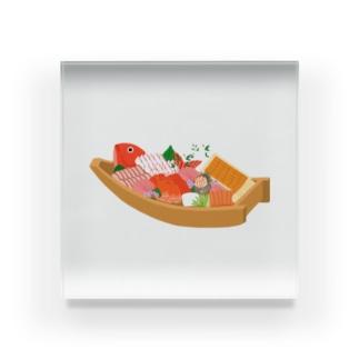舟盛り Acrylic Block