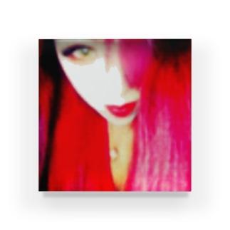 「me」拙者赤髪ver. Acrylic Block
