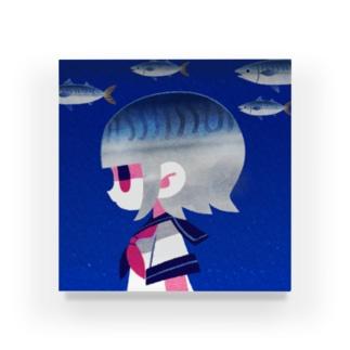 鯖 Acrylic Block