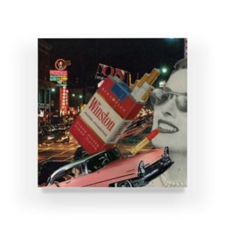 タバコと女の人 Acrylic Block