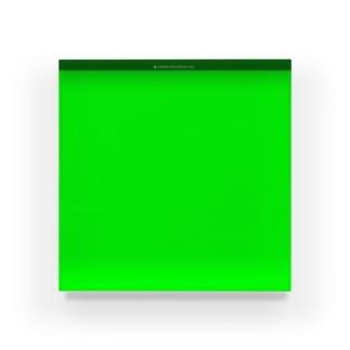 グリーンバック Acrylic Block