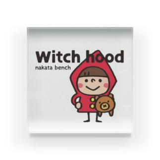 Witch hood Acrylic Block