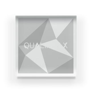 QUALIA of X ロゴタイプ Acrylic Block