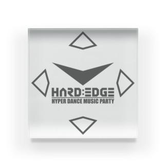 HARD:EDGE 2020 Acrylic Block