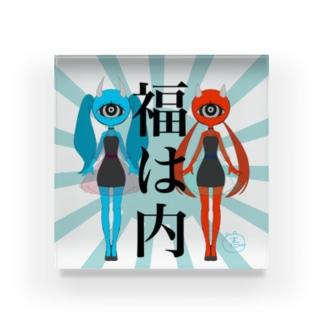 小鬼ちゃんズ Acrylic Block