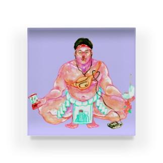 相撲ボーイ Acrylic Block