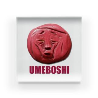 UMEBOSHI 梅干しさん Acrylic Block