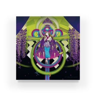 ULIの二季草 Acrylic Block