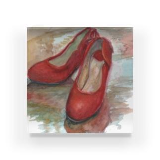赤い靴 Acrylic Block