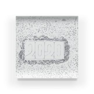 2020強調グッズ Acrylic Block