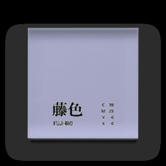 斜め上支店の和色コレクション:藤色(ふじいろ) Acrylic Block
