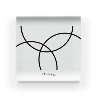「Theory」 シンプルなやつ Acrylic Block
