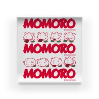 MOMOROS(WHITE) Acrylic Block