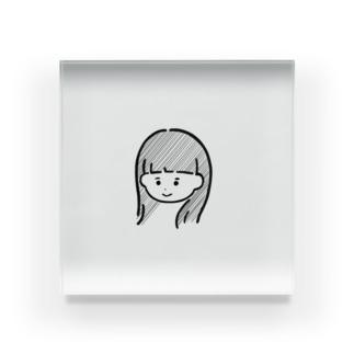 よしみ子 Acrylic Block