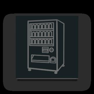 チョコリングボーイのお店の自動販売機 / type-C Acrylic Block