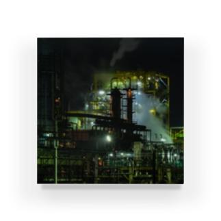工場夜景-02 Acrylic Block
