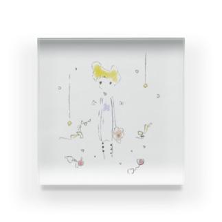 天使の子 Acrylic Block