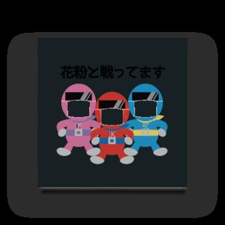 merf_design の花粉症マスク戦士 Acrylic Block