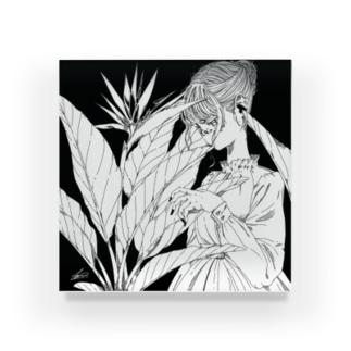 Strelitzia Acrylic Block