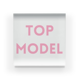TOP MODEL Acrylic Block