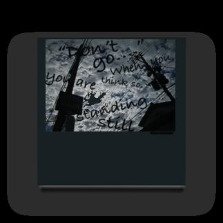 KAZUE_KOBAYASHI_SHOPの【 BUS STOP 】オリジナル・フォト&メッセージ Acrylic Block