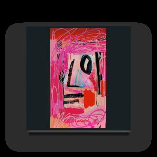 FRESH⭐︎DRAWING 2020のさくら色のportrait Acrylic Block