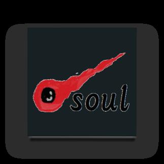 アメリカンベースの魂 soul Acrylic Block