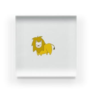 ライオンちゃん Acrylic Block