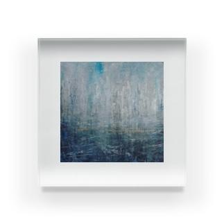 雨のやつ Acrylic Block