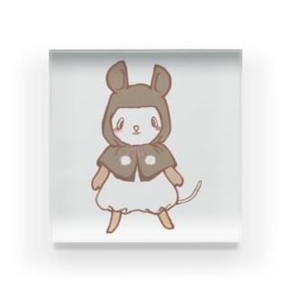 パンダマウス頭巾ノーマル Acrylic Block