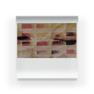ウインクが上手く出来ない全人類へ告ぐ Acrylic Block