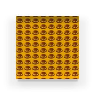 チーズハンバーグ Acrylic Block