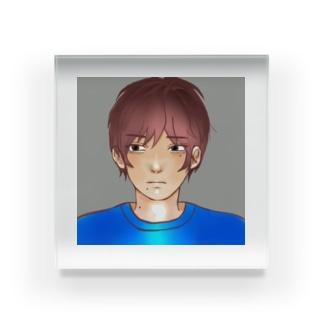 男の子 Acrylic Block
