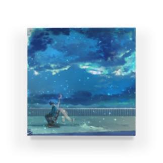 アクリル【遠距離恋愛】 Acrylic Block
